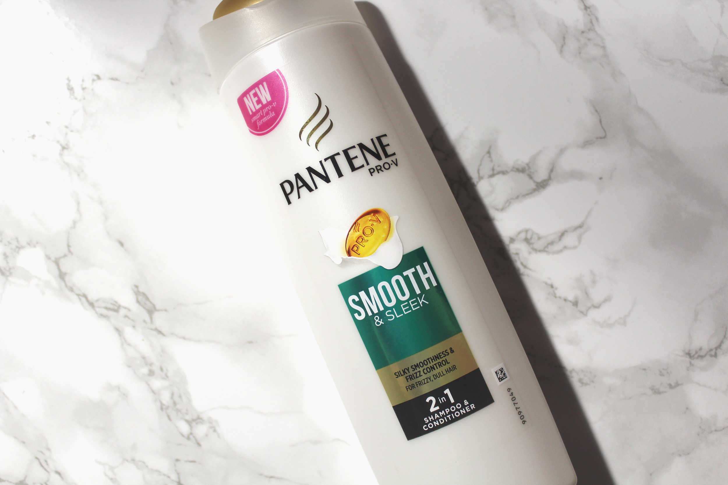 Pantene Smooth & Sleek 2 in 1 Shampoo and Conditioner